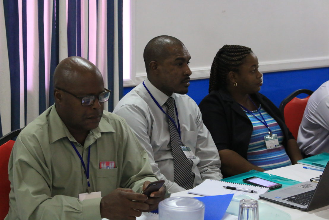Participants of the Project Management Workshop organised by the OECS Trade Policy Unit.