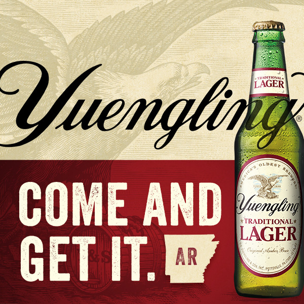 Yuengling Now Available In Arkansas