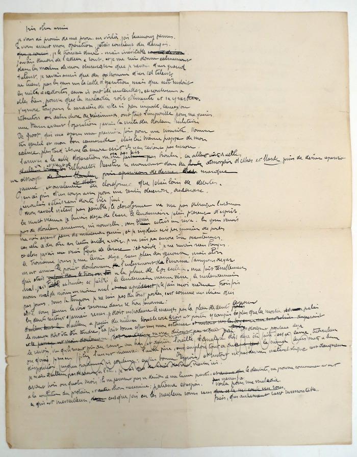 Preview: Correspondance unique de l'un des fondateurs de l'Art Moderne en Belgique proposée aux enchères à Bruxelles