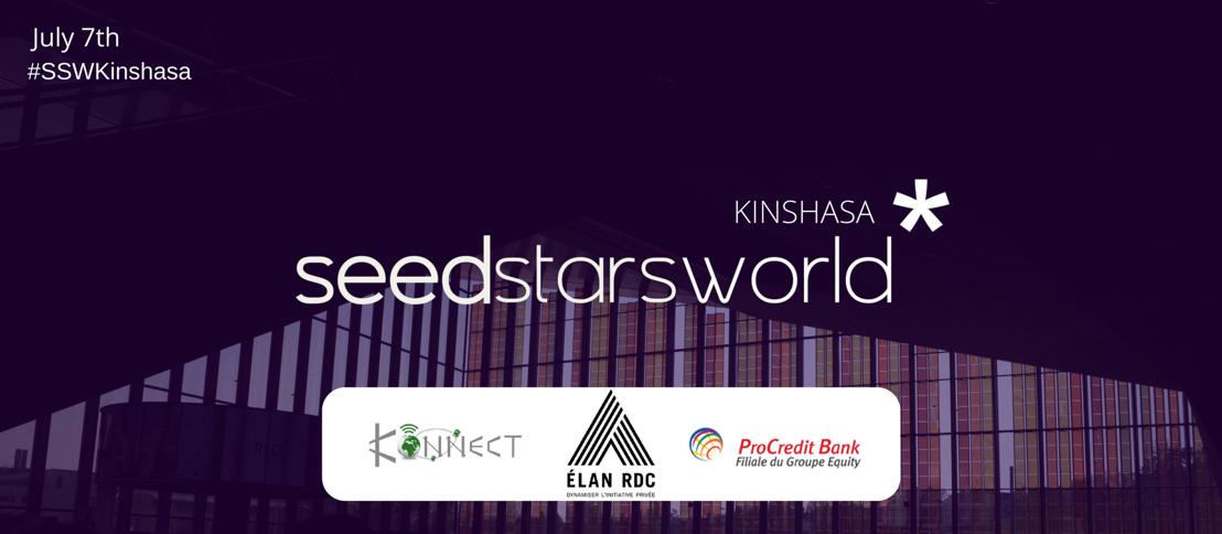 SEEDSTARS WORLD ANNOUNCES 10 STARTUPS TO PITCH AT SEEDSTARS WORLD KINSHASA