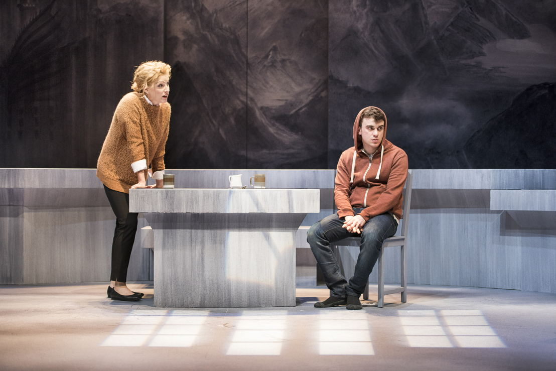 Colleen Wheeler and Matt Reznek in The Valley by Joan MacLeod / Photos by Emily Cooper