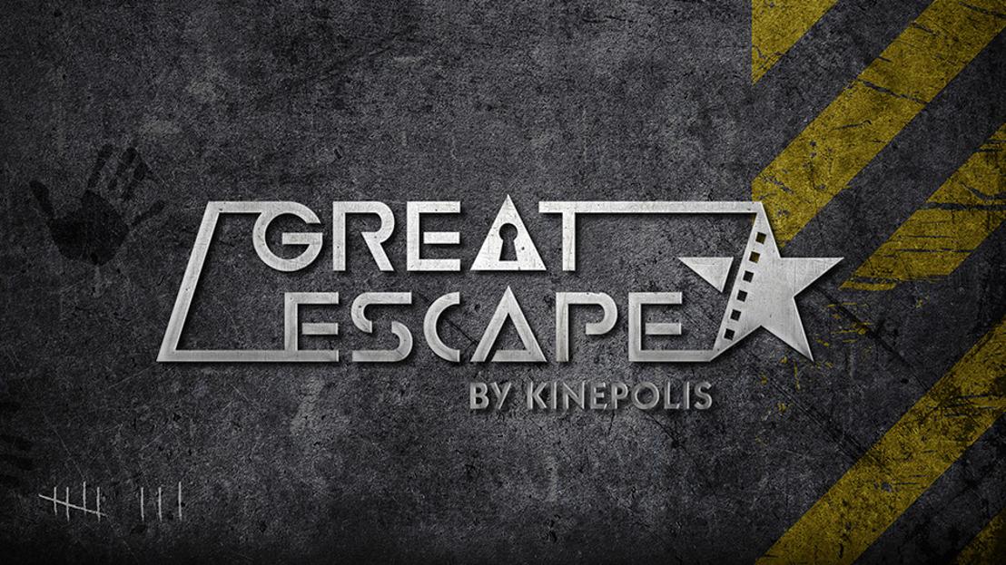 Kinepolis lanceert nieuw belevingsconcept 'Great Escape' in Leuven