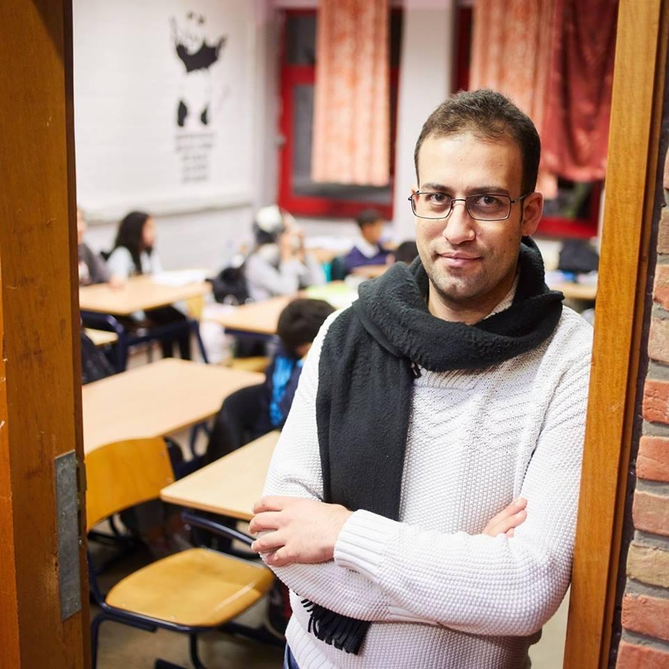 Sami Azar, coördinator van het project Arabische Taallessen