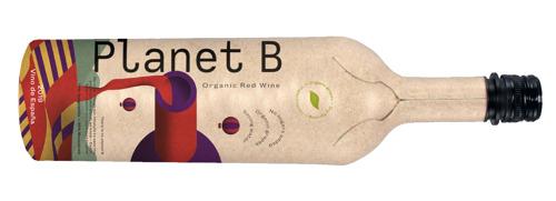 Primeur en Belgique : une bouteille de vin en papier
