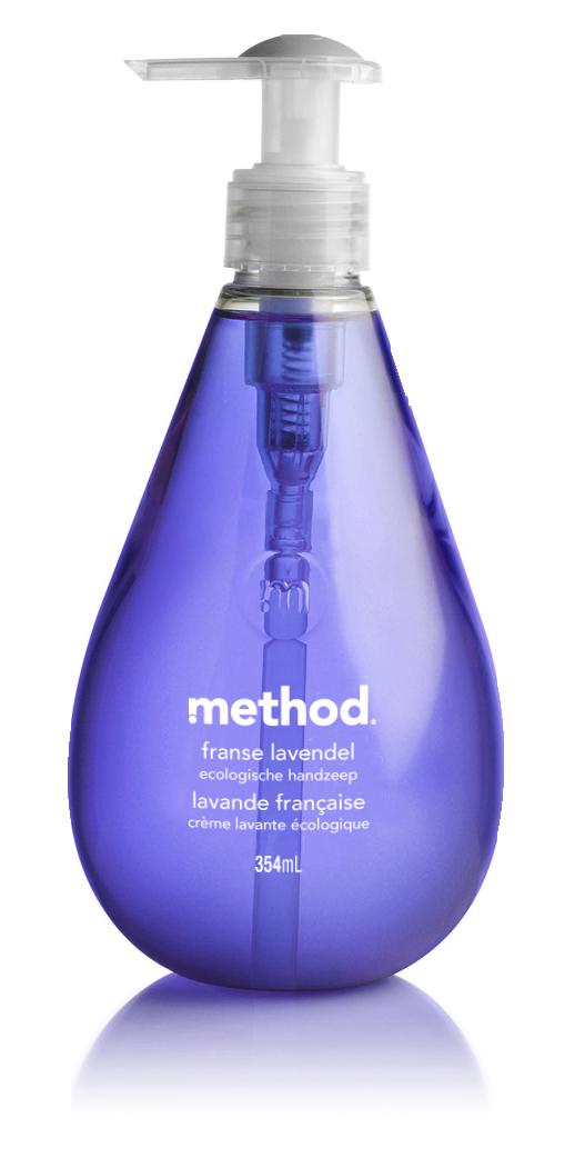 method handzeep franse lavendel<br/>Verkrijgbaar bij Carrefour<br/>Prijs: € 2,99