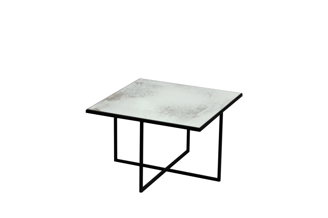 Surface coffee table - Metallic Bronze - heavy aged mirror