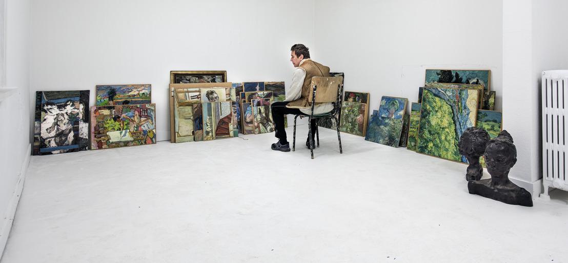 Internationaal gelauwerde schilder Sam Dillemans opent eigen tentoonstellingsruimte in Antwerpen