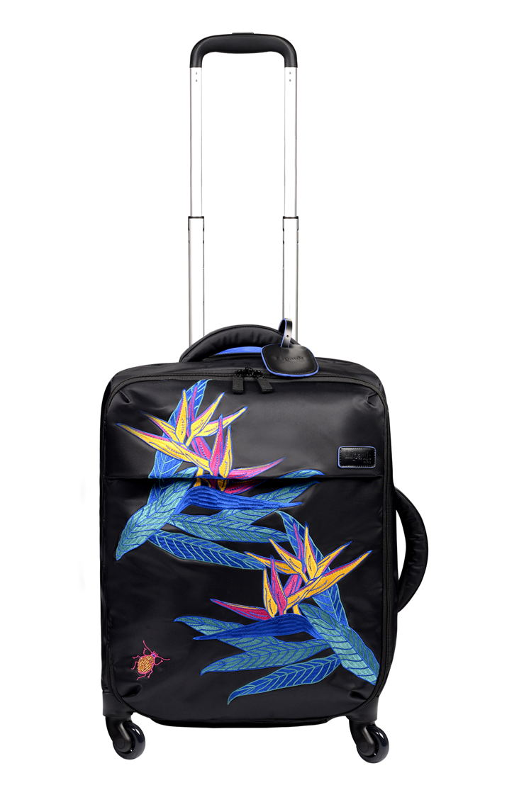 Lipault Special Edition Psychotropical -- Valise à roulettes (Spinner 55) : 209 €.