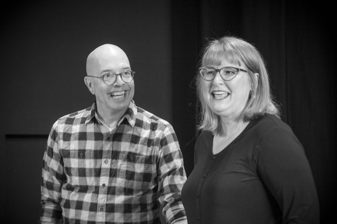 James Fagan Tait and Deborah Williams / Photo by Peter Pokorny