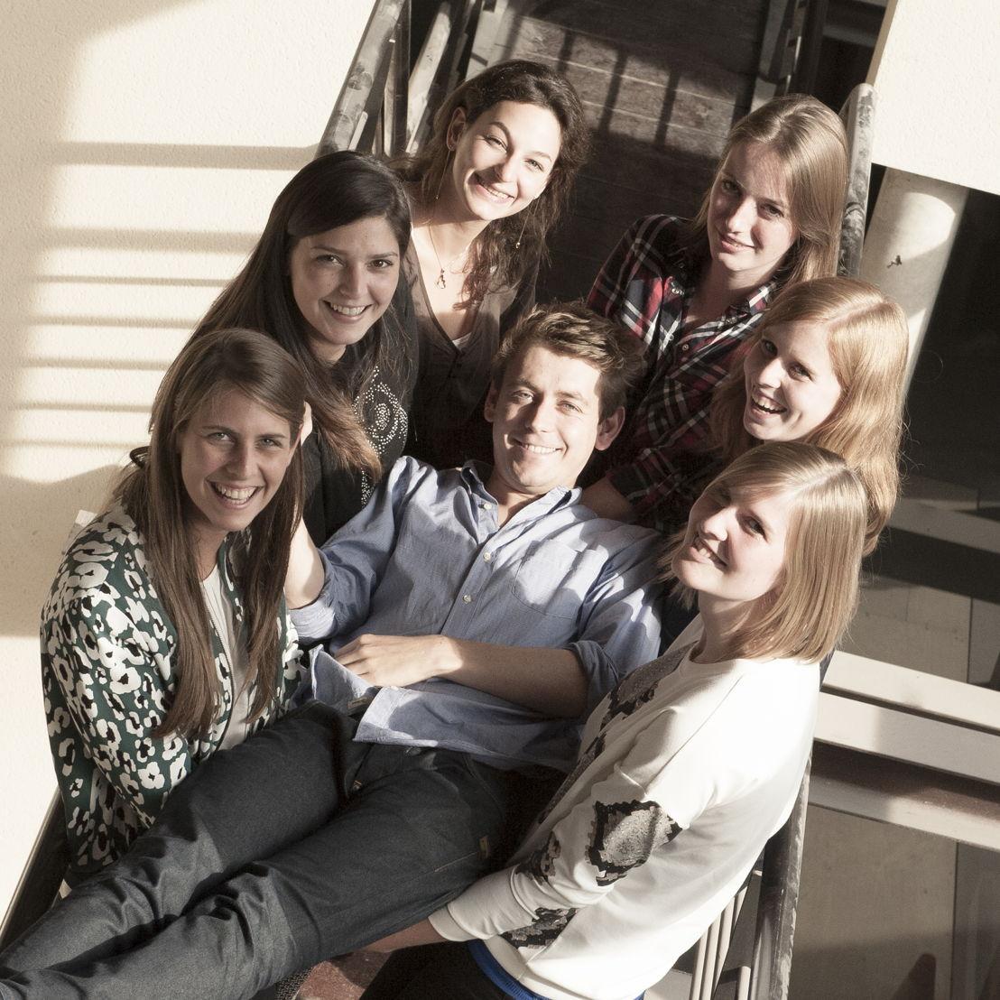 La nouvelle génération: Pauline, Olivia, Nada, Pieterjan, Astrid, Charis & Stephanie