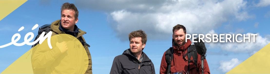 Arnout Hauben neemt kijkers mee op een uitzonderlijk avontuur rond de Noordzee in nieuw programma
