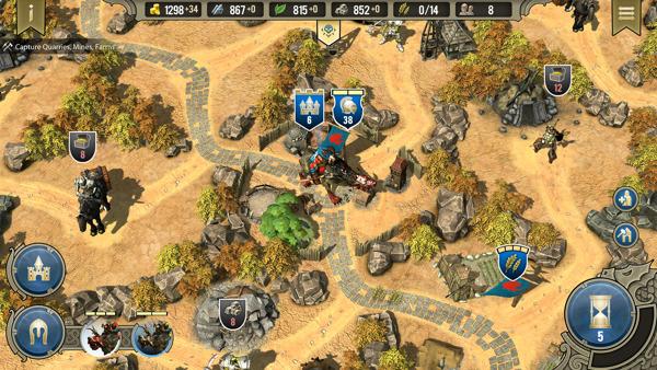Preview: SpellForce - Heroes & Magic erscheint für mobile Geräte