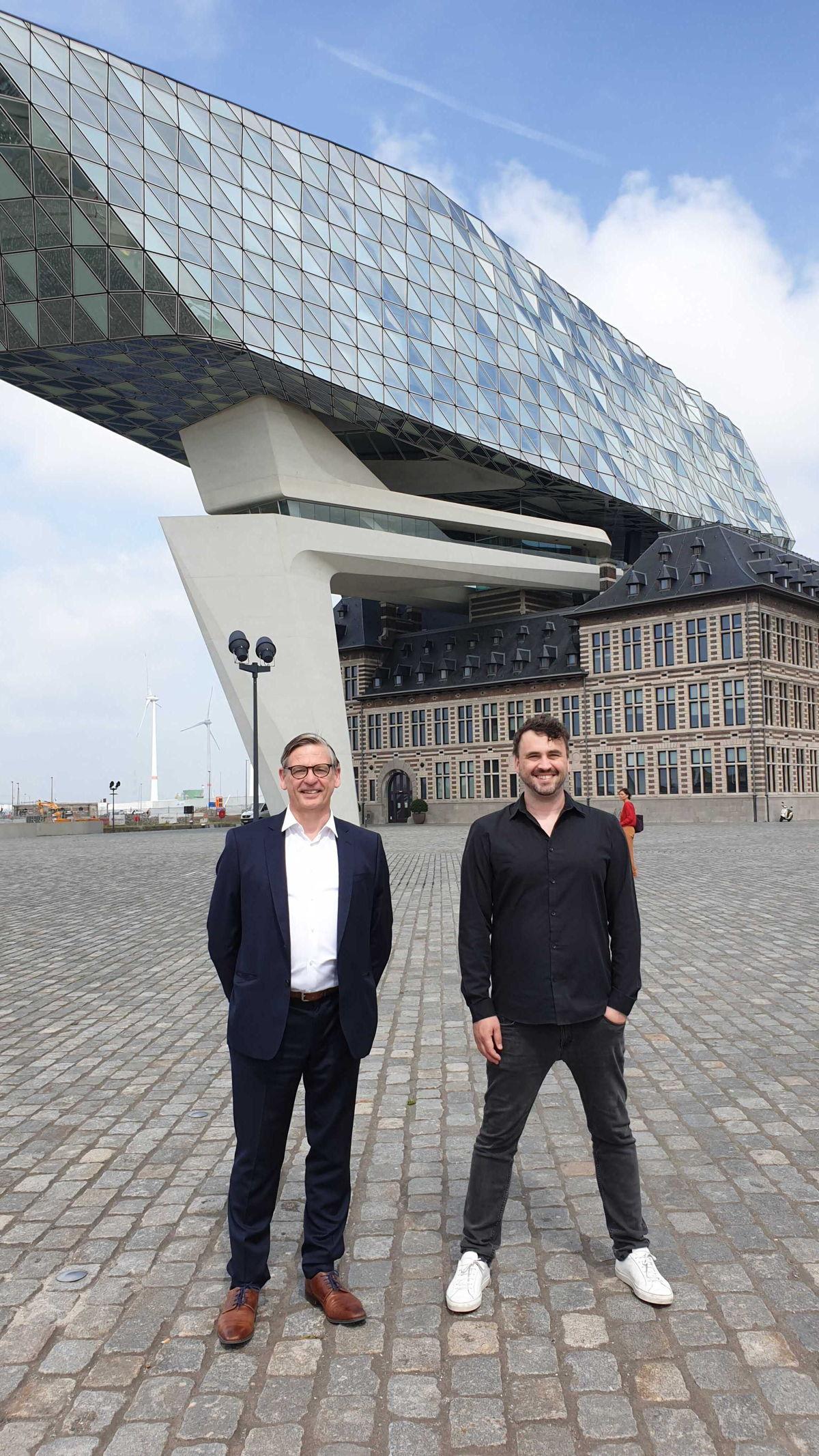 Jan Van Steen (Omnia Travel) & Lode Uytterschaut (Start it X)
