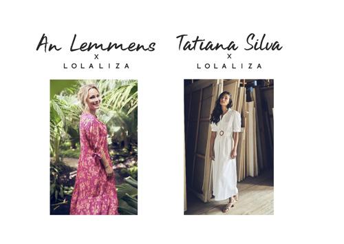 An Lemmens et Tatiana Silva créent chacune une collection estivale pour LolaLiza