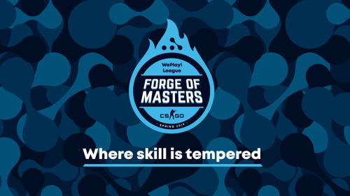 Forge of Masters. WePlay! League, a professional CS:GO league for the CIS region, starts on Monday, April 8th
