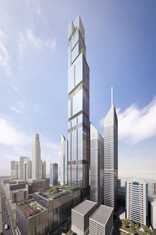 Entisar Tower - Dubai - Azizi Investments