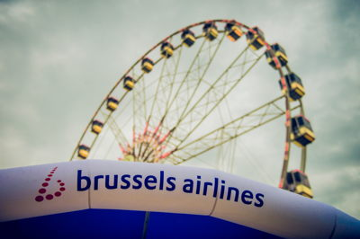Cloud Rider TML - Brussels Airlines Ferris Wheel