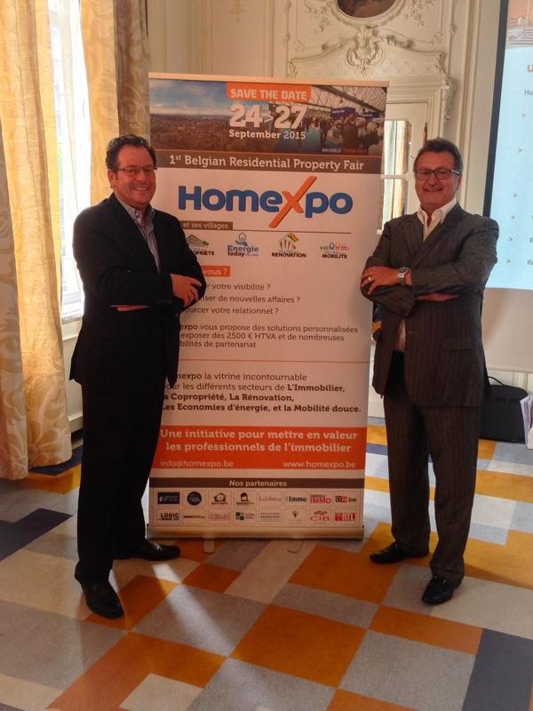 Didier Hermans et Richard Benlolo