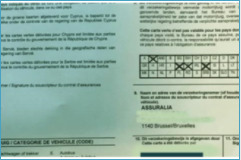 Autoverzekering: je groene kaart wordt wit of elektronisch