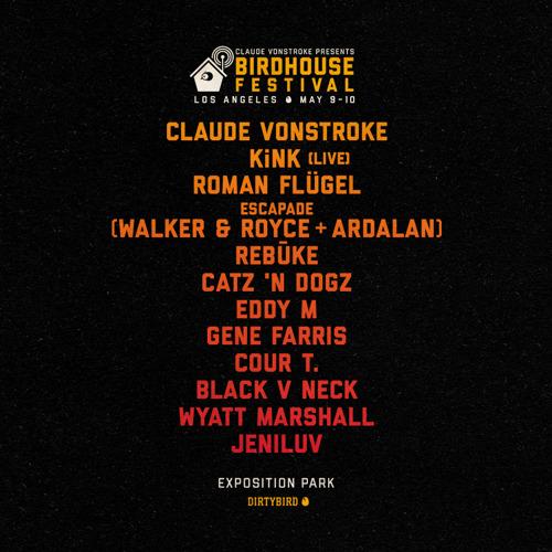 DIRTYBIRD Announces Lineup for Inaugural Birdhouse LA Festival