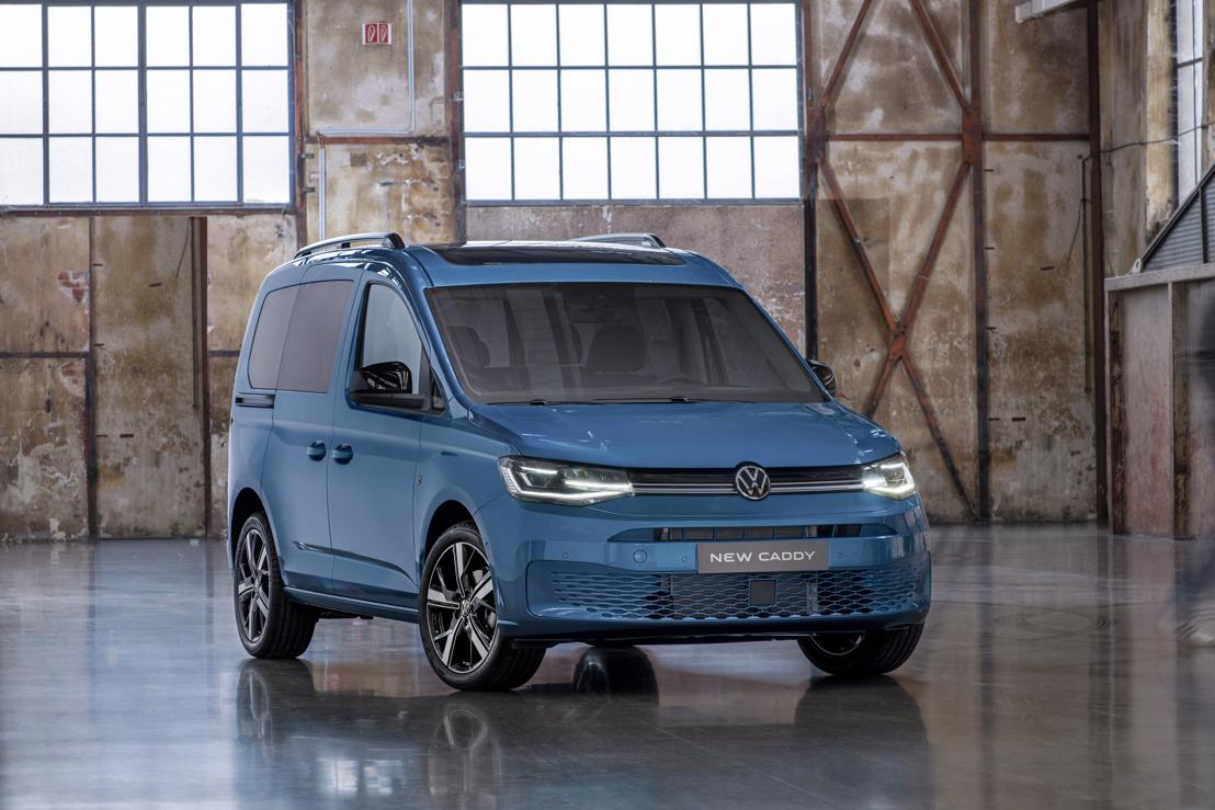 Wereldpremière – Volkswagen Commercial Vehicles viert het debuut van de meest digitale Caddy aller tijden
