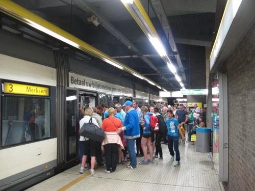 22 extra trams op lijnen 3, 5 en 9 voor Antwerp Marathon en Ten Miles