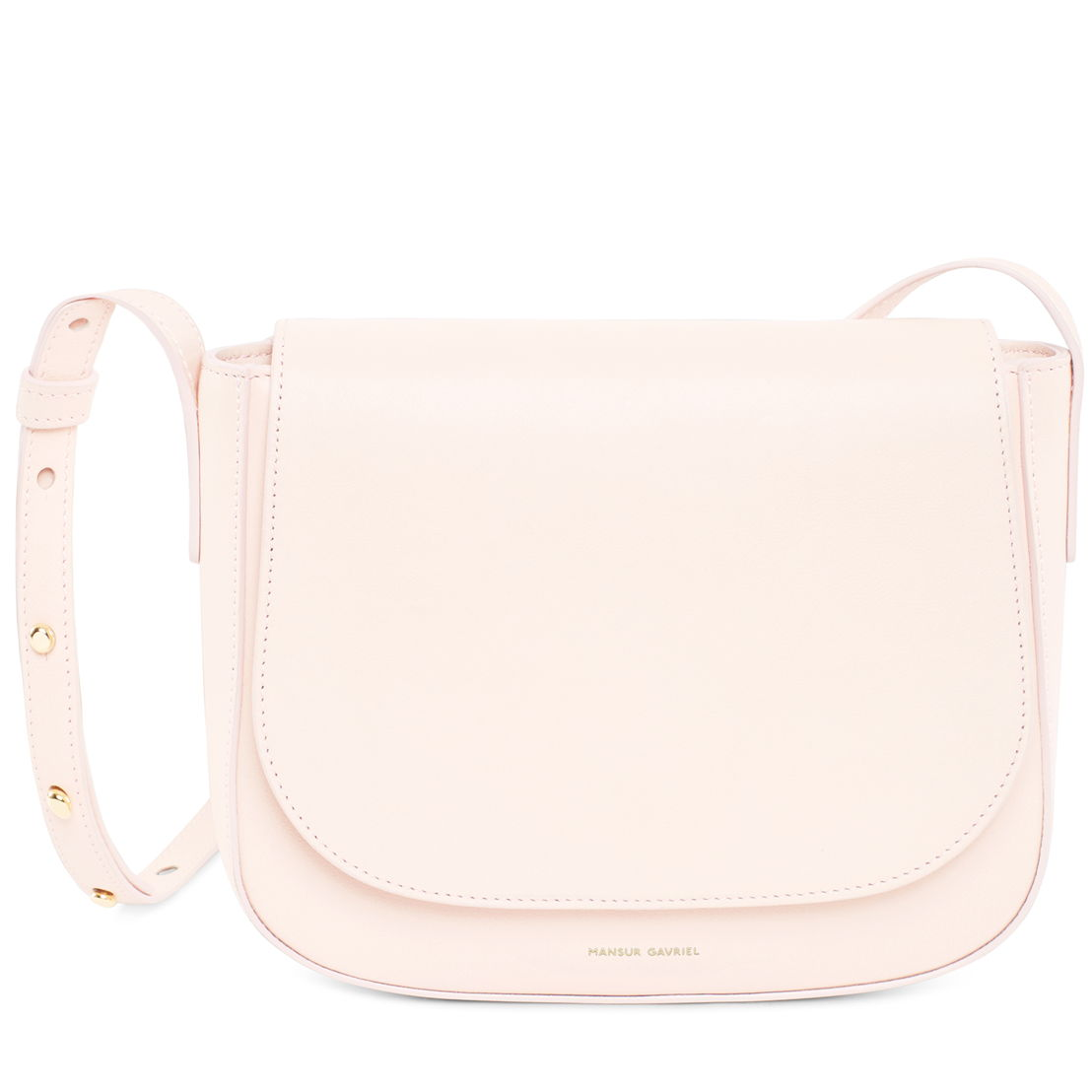 Mansur Gavriel Cross Body Rosa 615 euro at Graanmarkt 13