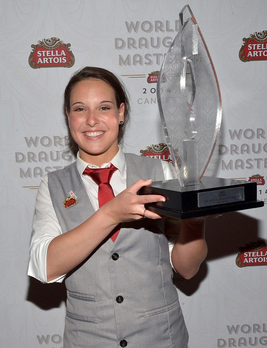 Une Belge remporte la finale des Stella Artois World Draught Masters 2014 à Cannes