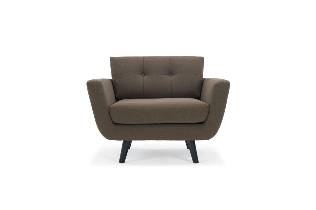 Vera Chair - Lux Chestnut Brown.