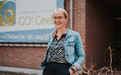 Hanne Van Looveren wordt leraar secundair onderwijs via LIO