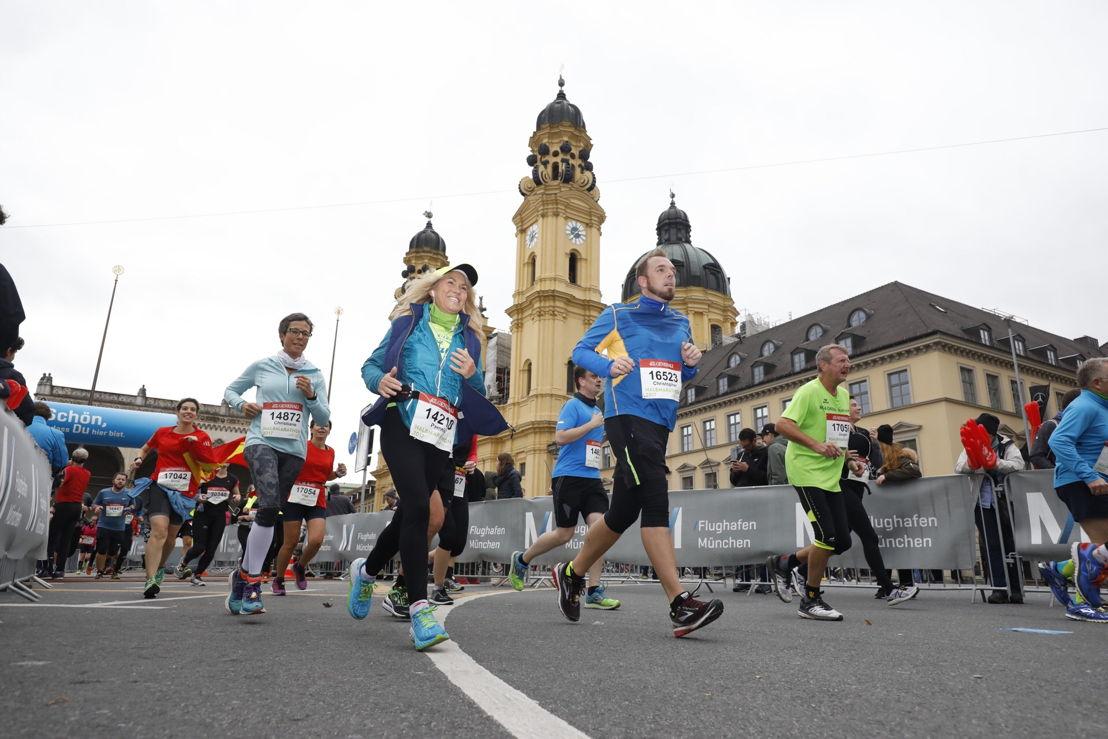 Münchens schönste Laufstrecke.