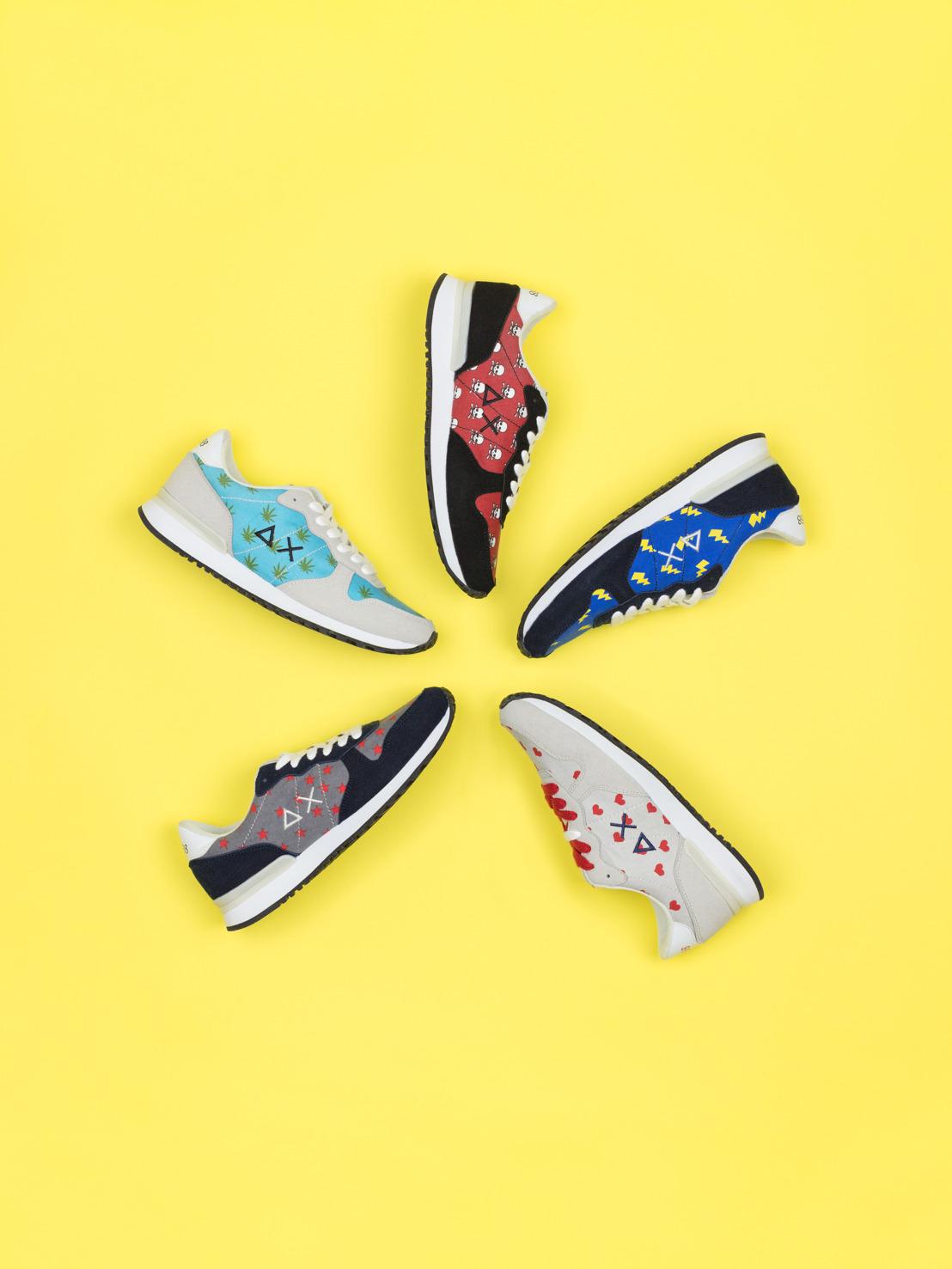 SUN68 Running Shoes SS17