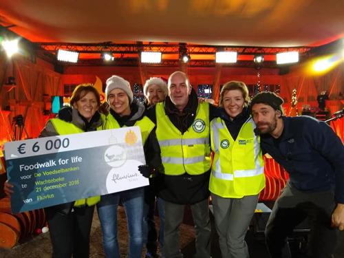 Fluvius-medewerkers zamelen 6000 euro in voor De Warmste Week