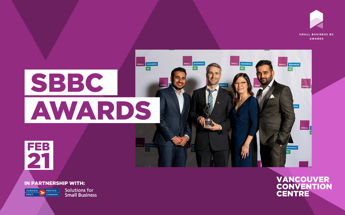SMALL BUSINESS BC AWARDS GALA 2020