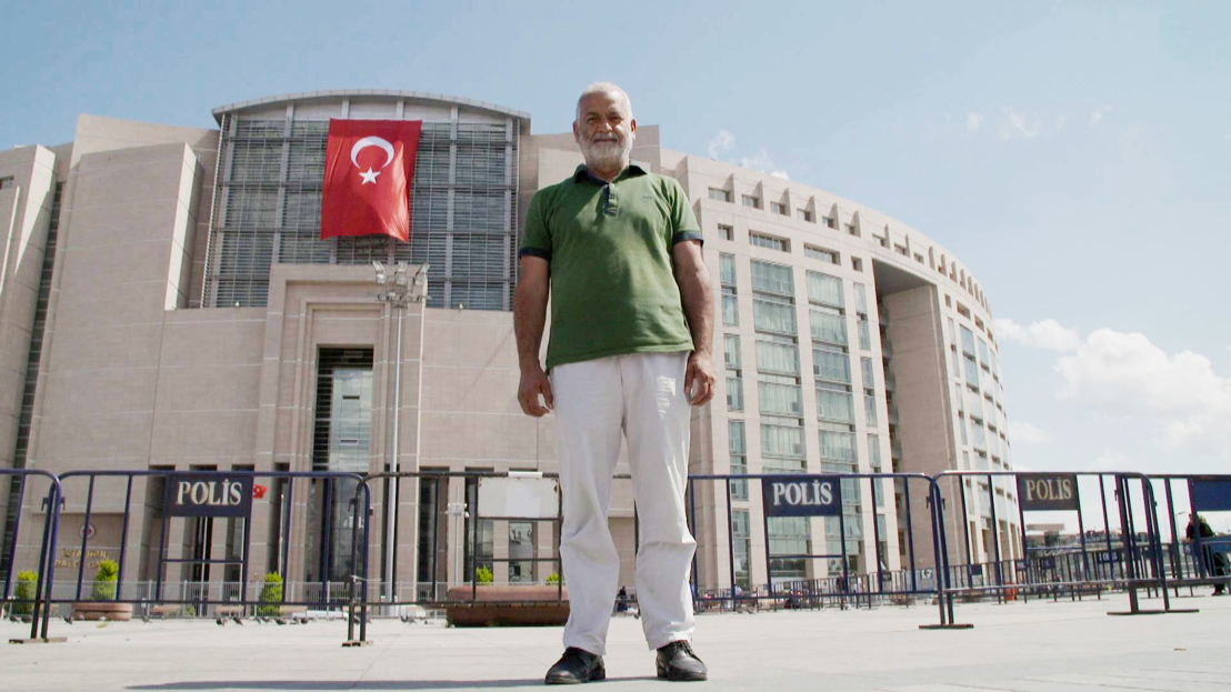 Ahmet Kinay is fighting to free his detained son