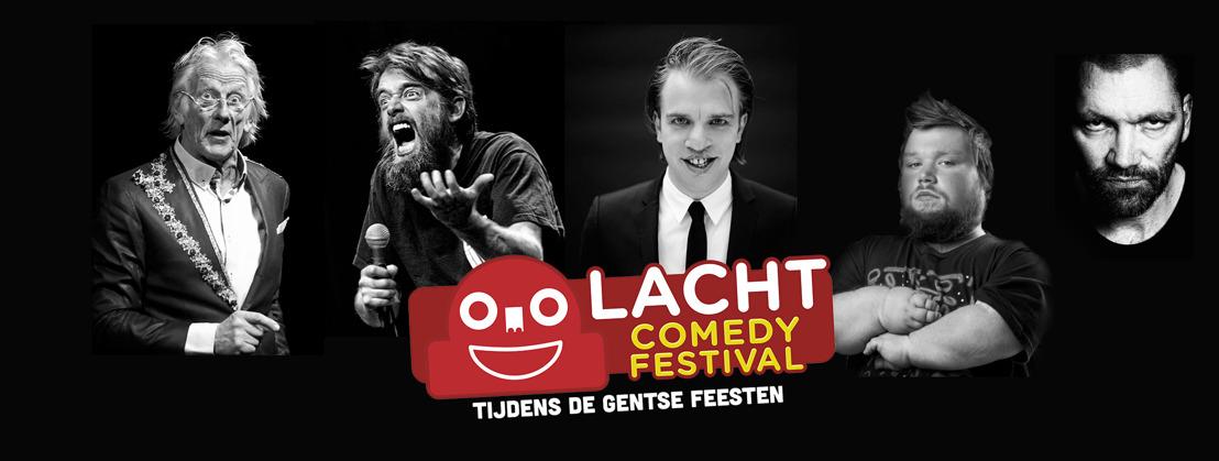 Eerste editie Lacht Comedy Festival in Vooruit tijdens Gentse Feesten