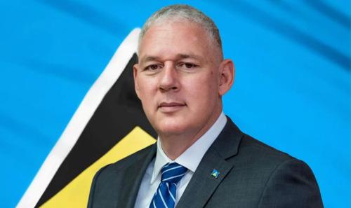 "Prime Minister of Saint Lucia congratulates Dr. Hyginus ""Gene"" Leon"