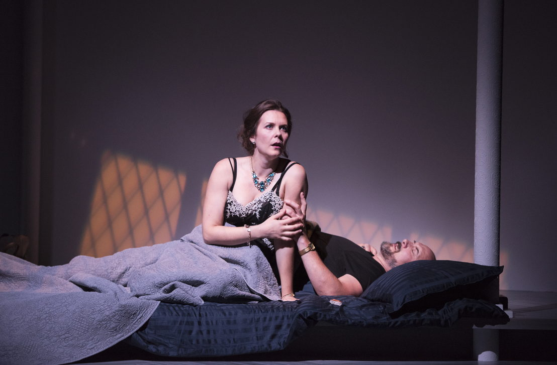 Celine Stubel and Oliver Becker in The Last Wife by Kate Hennig / Photos by Emily Cooper