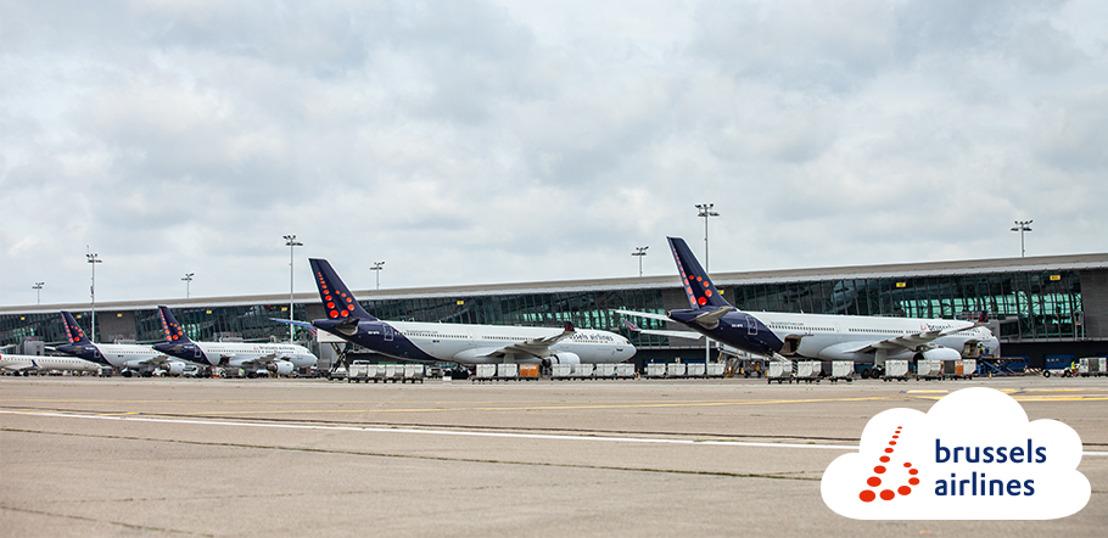 En raison de la pandémie du coronavirus, Brussels Airlines annonce un résultat EBIT ajusté de -233 millions d'euros pour les neuf premiers mois de l'année