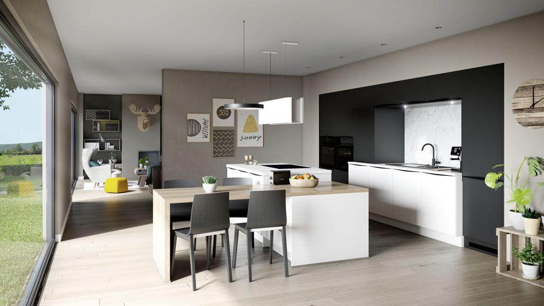 cuisine ouverte / open keuken 900 ©èggo