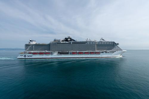 L'iconique MSC Seaview baptisé dans le port de Gênes