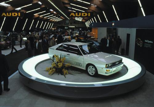 Erfgoed in de kijker: 40 jaar Audi quattro in de spotlight bij Autoworld