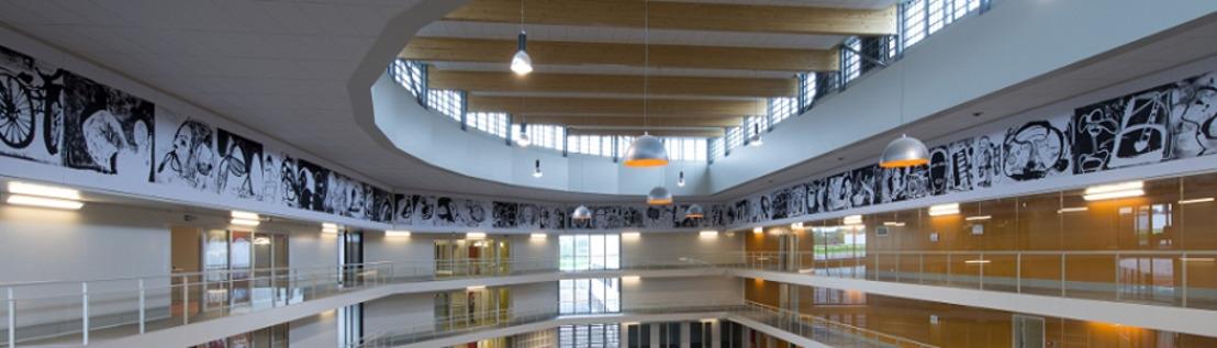PERSRONDLEIDING - ARCHITECTURALE EN ARTISTIEKE KIJK OP DE GEVANGENIS VAN LEUZE-EN-HAINAUT