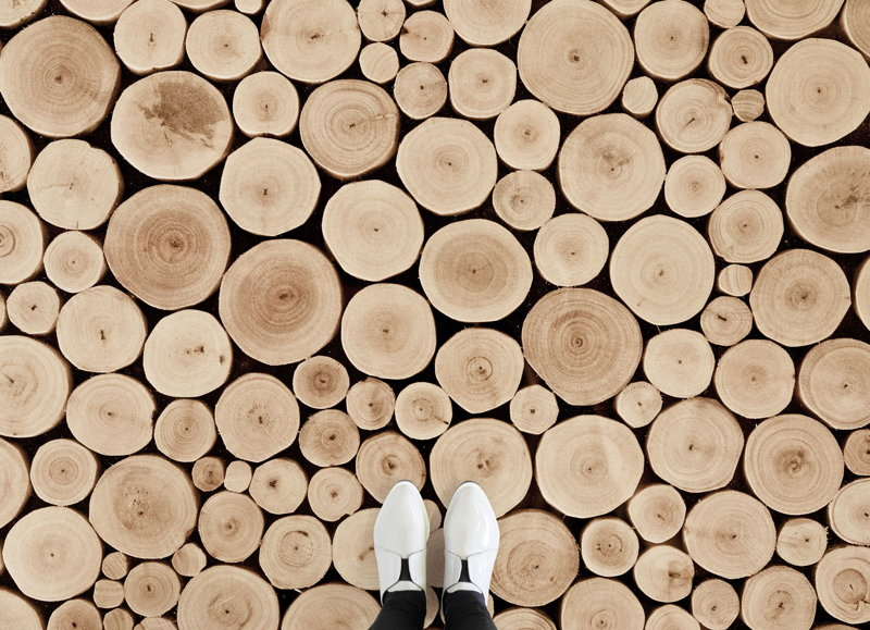 Malmo | Scandinavian Logs Vinyl Flooring