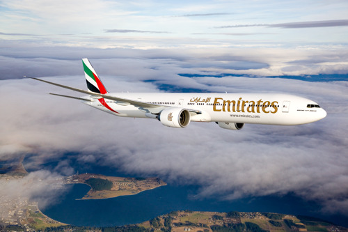 Emirates' celebrates its inaugural flight to Edinburgh with special fares