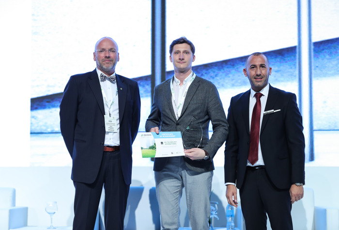 """Preview: """"LUKIDA"""" HEI SOLAR LIGHT COLUMNS WIN PRODUCT INNOVATION AWARD AT THE URBAN DESIGN & LANDSCAPING EXPO IN DUBAI"""