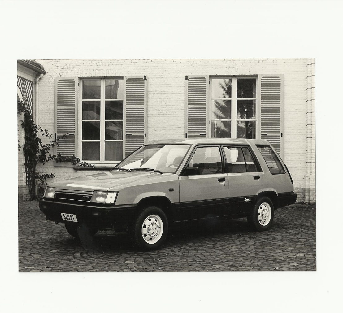 Toyota Tercel 4x4 1983