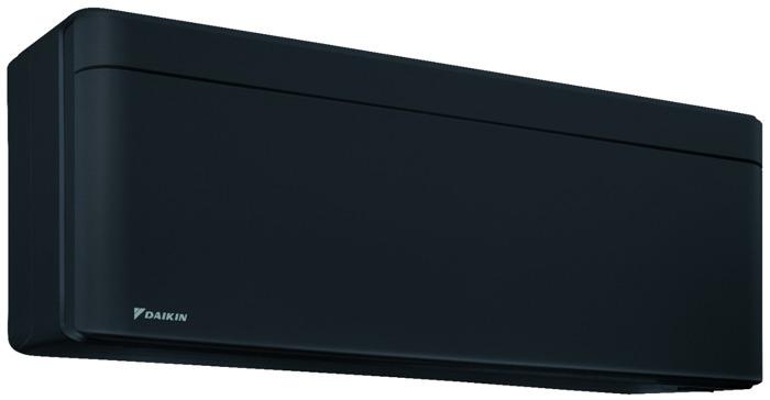 Le noir, une valeur sûre : nouveau design de pompe à chaleur air/air