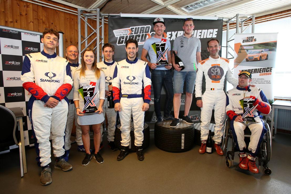 Podium Round #3 : 1️⃣ Sudpresse/7Dimanche : Oliver Aerts & Timo Van Impe 2️⃣ Lauwers: Tim Verbergt & Marc Lauwers 3️⃣ X-Raids Racing: Nigel Bailly & Pierre Dupont
