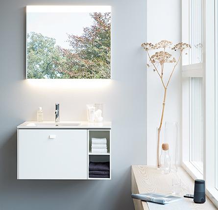 De badkamerspiegels en spiegelkasten van de toekomst